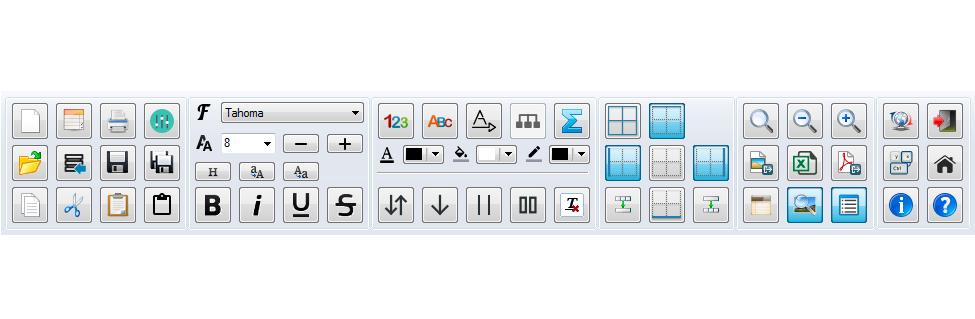 PatchCAD - Toolbar
