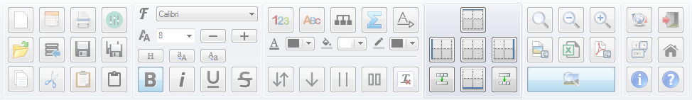 PatchCAD Toolbar - Borders