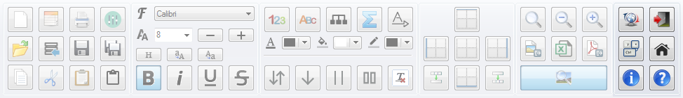 PatchCAD Toolbar - System
