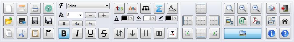 PatchCAD Toolbar - Text Formatting