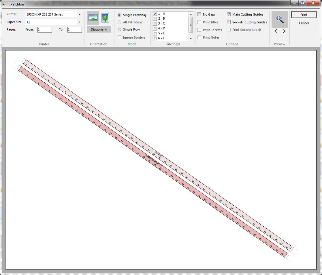 PatchCAD v2.3 - Print - Diagonal